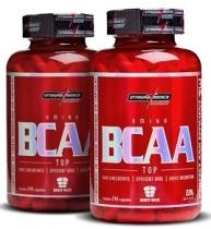 O bcaa pode ser encontrado em forma de cápsulas ou em pó isolados ou misturados com whey protein.