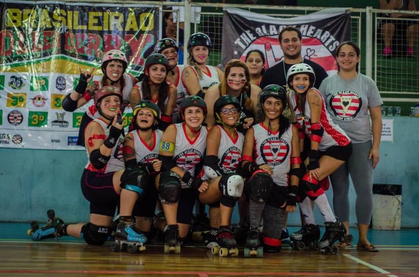 Black Hearts Derby Girls. Foto: Pri Morales