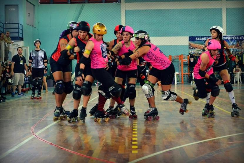 Black Hearts Derby Girls x Gray City Rebels. Foto: Crixx Martins