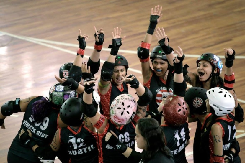 Black Hearts Derby Girls  VIBRANDO!!! Foto; Clara Angeleas